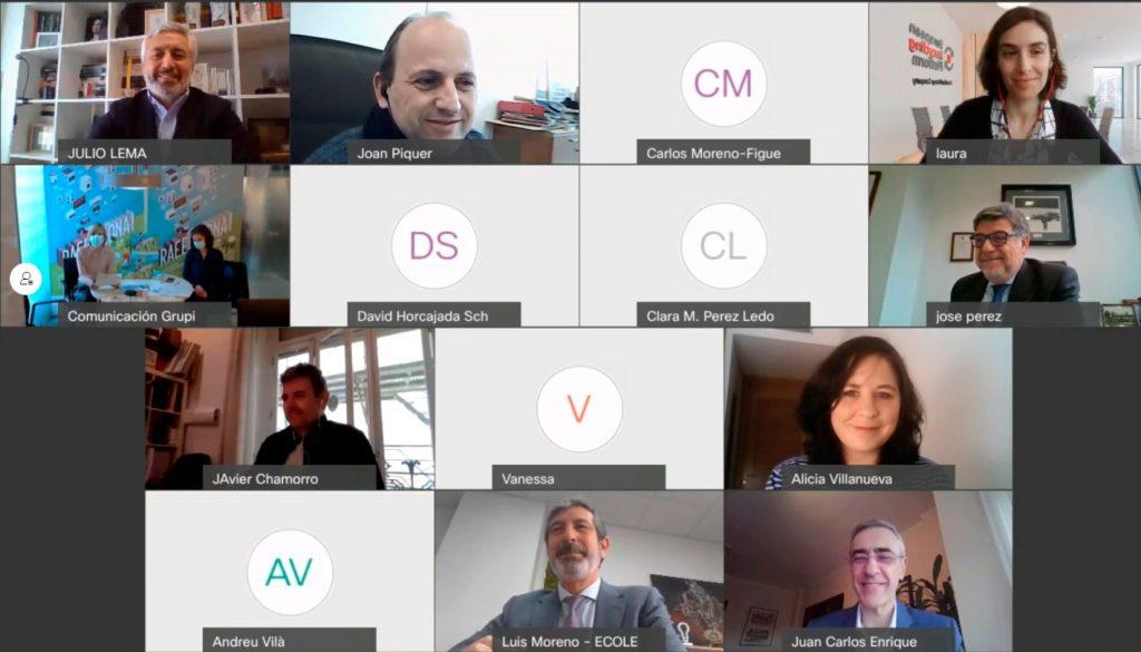 Videoconferencia de presentación de la tercera edición de RAEEcciona