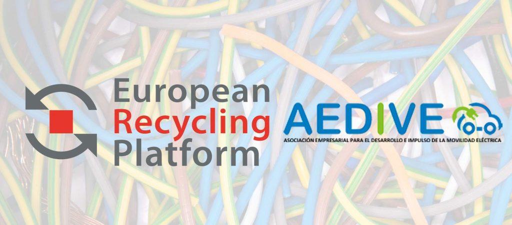 ERP y AEDIVE impulso reciclaje baterías y RAEE movilidad eléctrica