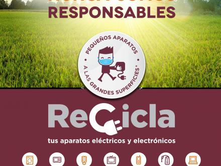 Recicla tus aparatos Comunidad Valenciana