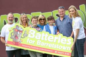 Batteries for Barretstown Minehan Family from Clare