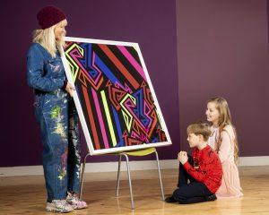 Artist Helen Steele Powers Positivity at Barretstown with ERP