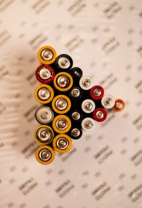 Banner image - pyramid of batteries