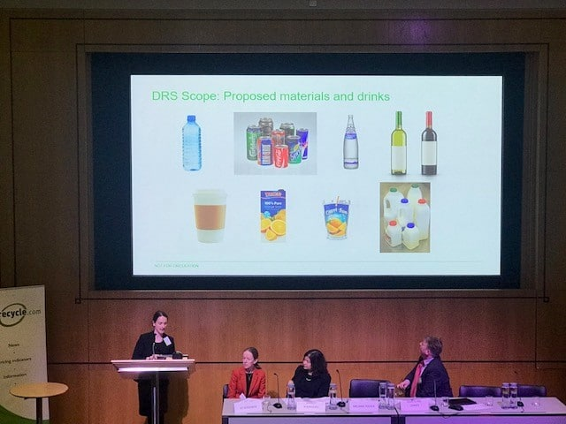 photo of presentation at London Conference 2019