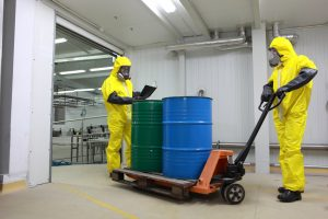 photo of two chemical specialists